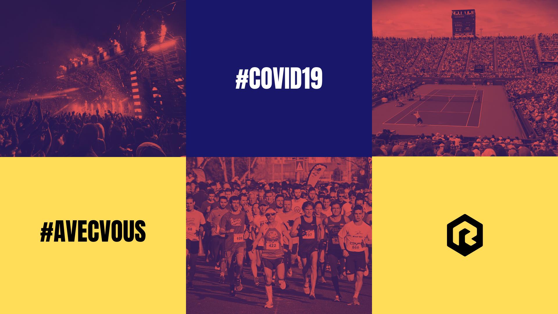 Covid-19 Annulation des événements