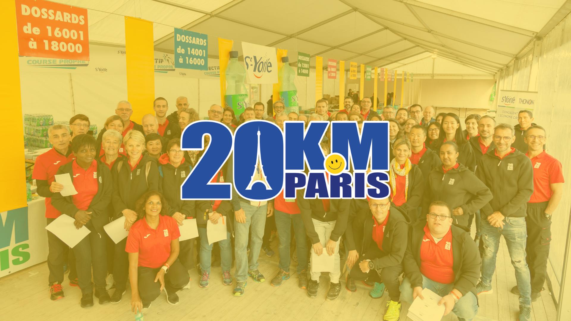 20 KM de Paris - Logiciel de Gestion des Bénévoles